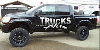 6in LIFT PKGS W/ 20in RIMS M/T TIRES & FENDERS FROM $5249 INSTLD