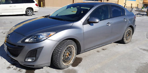 2010 Mazda 3 6 spd manual transmission