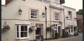 Sous- chef wanted at the red lion inn bridge