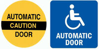 HANDICAP AUTOMATIC DOOR INSTALLATIONS