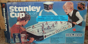 Coleco Stanley Cup Playoff table Hockey game