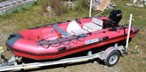 SeaBright 500 HD Inflatable Boat - Fully Rigged