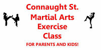 Connaught St. Martial Arts Exercise Class