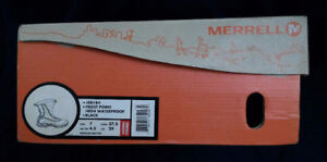 NEW in box Never worn MERRELL waterproof winter boots -40C SIZE7
