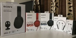 Sony Wired and Wireless headphones - 647 712 2116