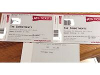 2 x Tickets to 'The Commitments' @ Hippodrome 25/2/17