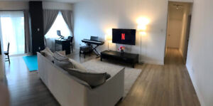 Spacious furnished 2-bedroom apartment (4 1/2) - SUBLET MAY-AUG