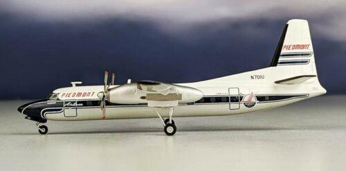 Herpa 559836 Piedmont Airlines Fairchild FH-227 N701U Diecast 1/200 Model Plane