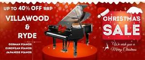 CHRISTMAS PIANO SALE Villawood Bankstown Area Preview