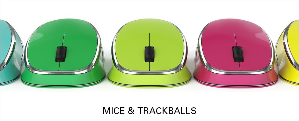 Mice Trackballs & Touchpads