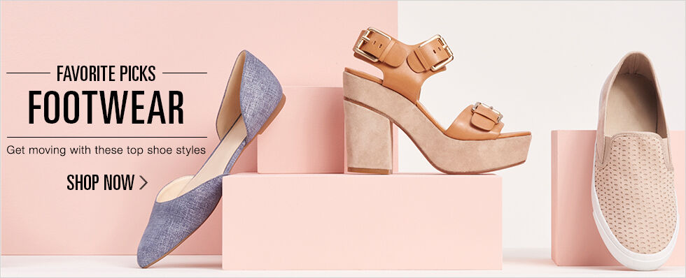 Favorite Picks: Footwear | Get moving with these top shoe styles | Shop Now