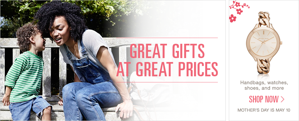 Great Gifts at Great Prices | Handbags, watches, shoes, and more