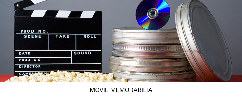 Movie Memorabilia | Shop Now