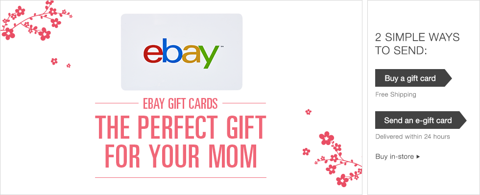 Ebay Mothers Day Gift Card