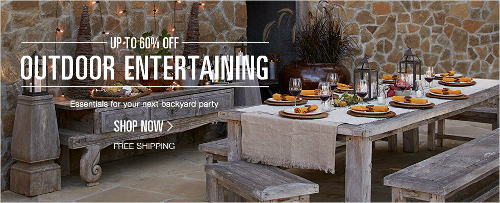 Up to 60% off Outdoor Entertaining | Essentials for your next backyard party | Shop now