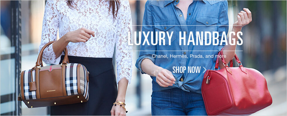 Luxury Handbags | Chanel, Hermes, Prada, and more | Shop now