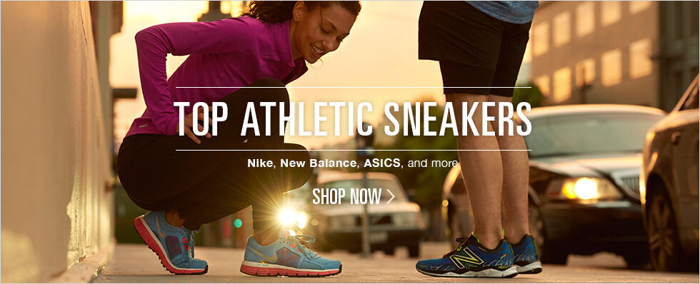 Top Athletic Sneakers | Nike, New Balance, ASICS, and more | Shop now