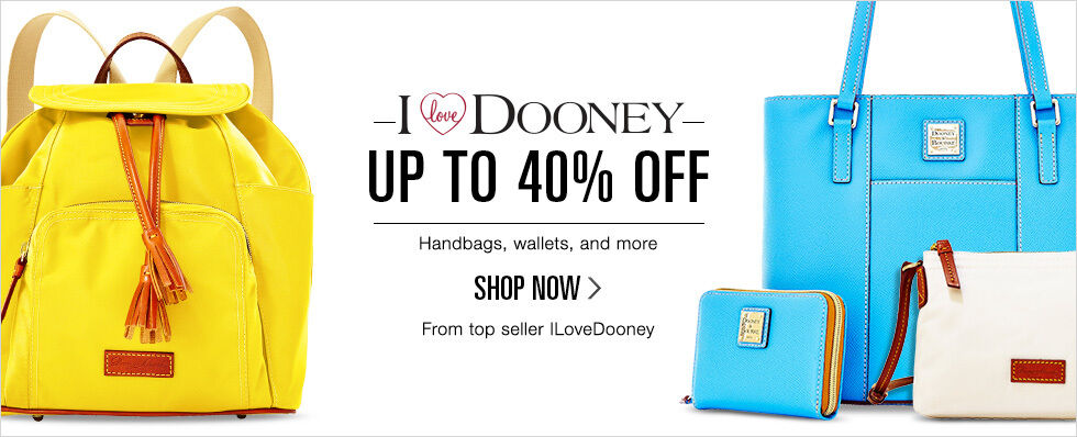 I Love Dooney | Up to 40% off Handbags, wallets, and more | Shop now | From top seller ILoveDooney