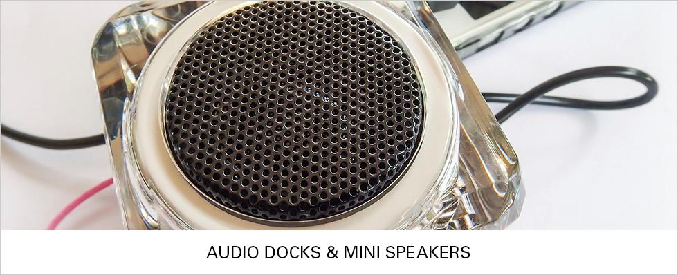 Audio Docks & Mini Speakers | Shop Now