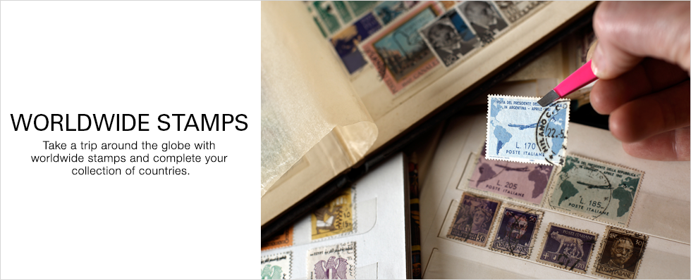 Worldwide Stamps | Shop Now