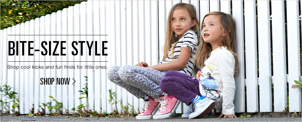 Bite-size Style | Shop cool kicks and fun finds for little ones. | Shop now