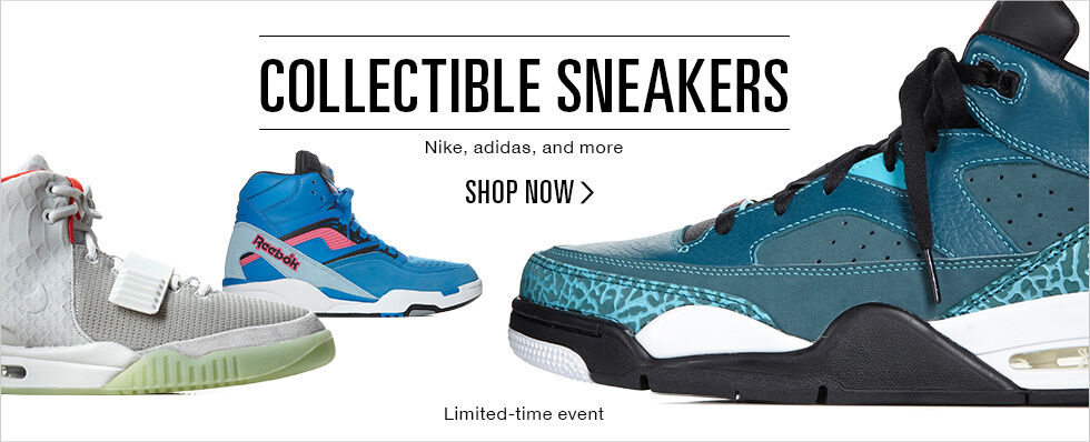 COLLECTIBLE SNEAKERS | SHOP NOW
