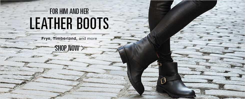 LEATHER BOOTS FOR HIM AND HER