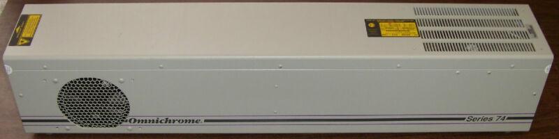 Melles Griot Omnichrome Series 74 HeCd Helium Cadmium Laser 45-MRM-303-120