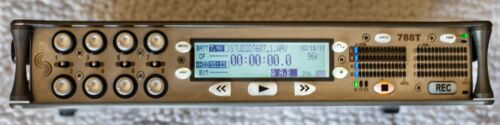 Sound Devices 788T-SSD Portable 8-Input 256GB Audio Recorder with Time Code