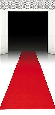 Hollywood Läufer Roter Teppich 450 x 60 cm Party Deko Hochzeit Geburtstag #4167