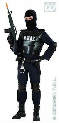 POLIZIST Undercover Gr. 128 Kostüm Jungen SWAT Officer  Police CIA S.W.A.T. ()