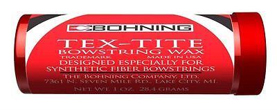Bohning Tex-Tite Compound & Crossbow String Wax 1oz Tube
