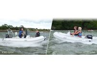 RIB PACKAGE - BOAT WITH CONSOLE , 20HP ENGINE AND TRAILER - FULL WARRANTY