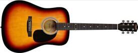 Squire SA-105 Acoustic Guitar
