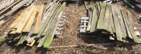 100+ Mainly used but good wooden feather edge boards planks