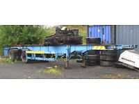 Volvo FL10 103 engine gearbox and back axel
