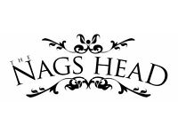 Front of house / Bar Staff - Nags Head, Great Missenden