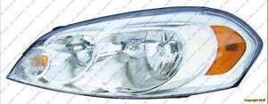 Head Light Driver Side High Quality Chevrolet Impala 2006-2012