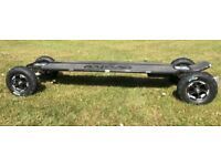 Evolve Carbon AT Electric Skateboard with All Terrain Tyres