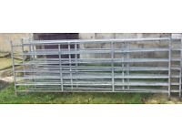 6 Farm stock hurdles for sale