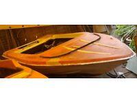 Classic speedboat Free