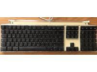 Vintage Apple USB keyboard Hungarian