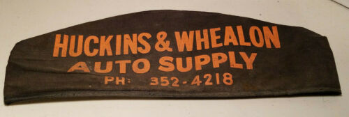 VINTAGE THOMPSON PRODUCTS HUCKINS & WHEALON AUTO SUPPLY CHAMPAIGN ILLINOIS HAT