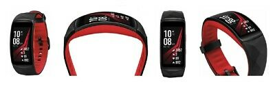 NEW Samsung Gear Fit2 Pro SM-R365 Fitness band Smart watch - Red, LARGE Size NEW