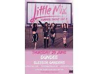 Little Mix Tickets Slessor Gardens Dundee