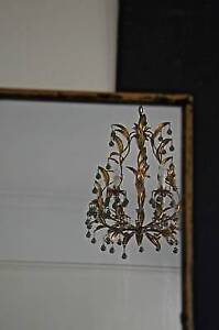vintage mirror with distressed timber frame Adelaide CBD Adelaide City Preview