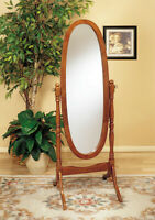 FS~~ Oak Cheval Mirror