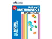 National 5 Maths Leckie & Leckie Success Guide and Practice Papers