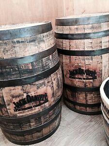 Original Jack Daniels branded oak whiskey barrels for sale! Belleville Belleville Area image 3