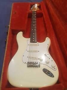 Vintage 1981 USA Fender Stratocaster Gladesville Ryde Area Preview